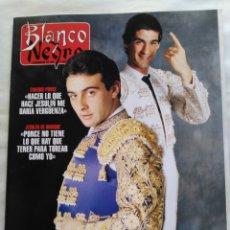 Coleccionismo de Revista Blanco y Negro: BLANCO Y NEGRO. SEMANARIO DE ABC. ENRIQUE PONCE. JESULÍN DE UBRIQUE. HARRISON FORD. SAMOA. Lote 118341352