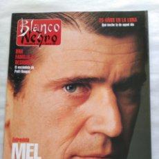 Coleccionismo de Revista Blanco y Negro: BLANCO Y NEGRO. SEMANARIO ABC. MEL GIBSON. 25 AÑOS DEL HOMBRE EN LA LUNA. ESTOCOLMO. Lote 118342295