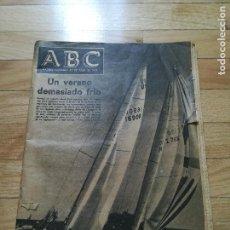 Coleccionismo de Revista Blanco y Negro: PERIÓDICO ABC MADRID - DOMINGO 31 JULIO 1977. Lote 118501291