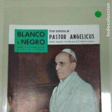 Collectionnisme de Magazine Blanco y Negro: 1018- REVISTA BLANCO Y NEGRO 10 OCT 1959 Nº 2475 PORTADA PASTOR ANGELICUS (34). Lote 118569851