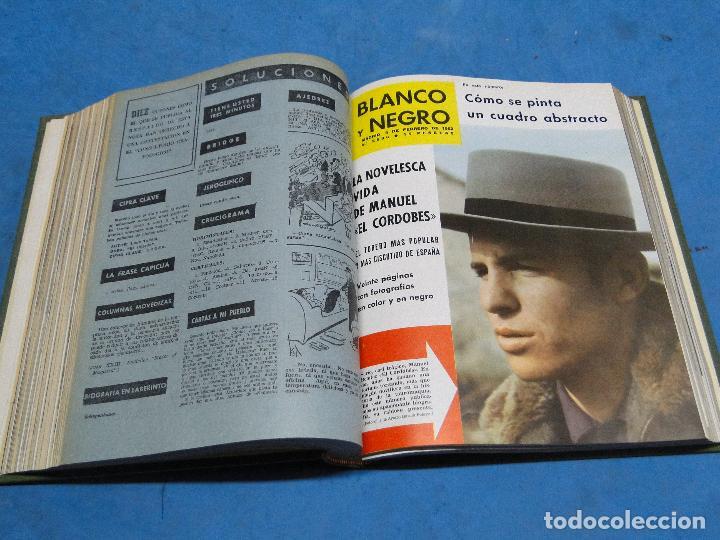 Coleccionismo de Revista Blanco y Negro: BLANCO Y NEGRO. REVISTA ILUSTRADA .AÑO 1962 COMPLETO - Foto 3 - 119970003