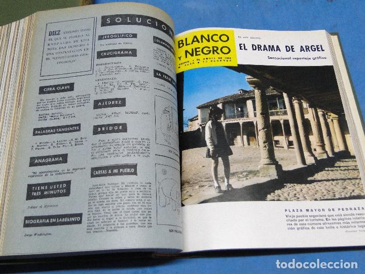 Coleccionismo de Revista Blanco y Negro: BLANCO Y NEGRO. REVISTA ILUSTRADA .AÑO 1962 COMPLETO - Foto 4 - 119970003