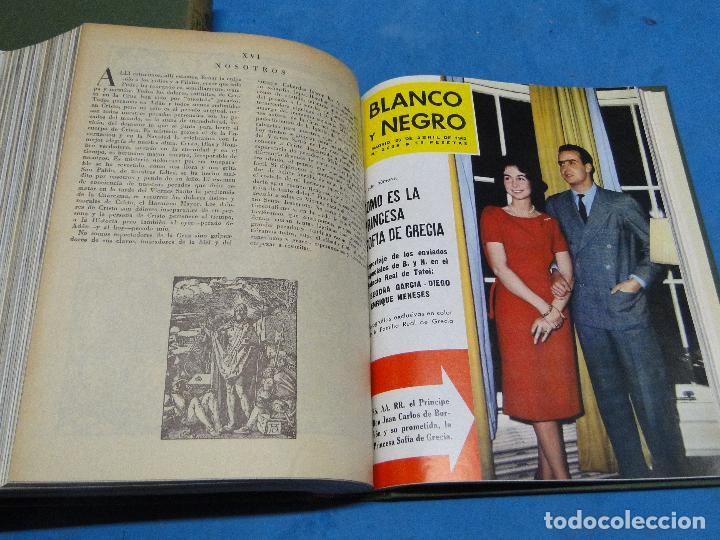 Coleccionismo de Revista Blanco y Negro: BLANCO Y NEGRO. REVISTA ILUSTRADA .AÑO 1962 COMPLETO - Foto 5 - 119970003