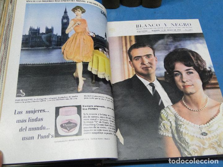 Coleccionismo de Revista Blanco y Negro: BLANCO Y NEGRO. REVISTA ILUSTRADA .AÑO 1962 COMPLETO - Foto 6 - 119970003