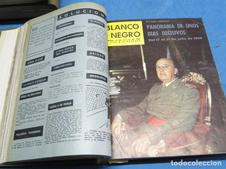 Coleccionismo de Revista Blanco y Negro: BLANCO Y NEGRO. REVISTA ILUSTRADA .AÑO 1962 COMPLETO - Foto 7 - 119970003