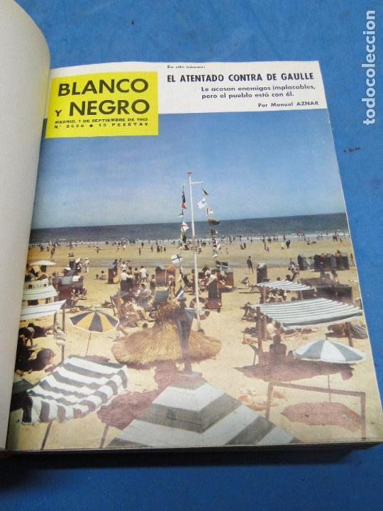 Coleccionismo de Revista Blanco y Negro: BLANCO Y NEGRO. REVISTA ILUSTRADA .AÑO 1962 COMPLETO - Foto 8 - 119970003