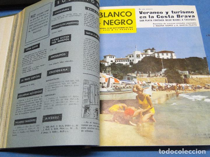 Coleccionismo de Revista Blanco y Negro: BLANCO Y NEGRO. REVISTA ILUSTRADA .AÑO 1962 COMPLETO - Foto 9 - 119970003