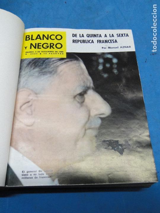 Coleccionismo de Revista Blanco y Negro: BLANCO Y NEGRO. REVISTA ILUSTRADA .AÑO 1962 COMPLETO - Foto 10 - 119970003