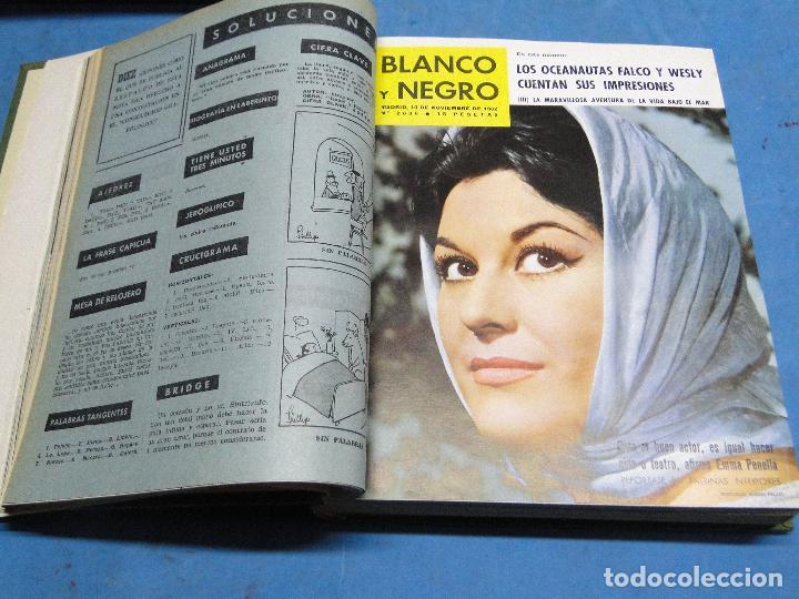Coleccionismo de Revista Blanco y Negro: BLANCO Y NEGRO. REVISTA ILUSTRADA .AÑO 1962 COMPLETO - Foto 11 - 119970003