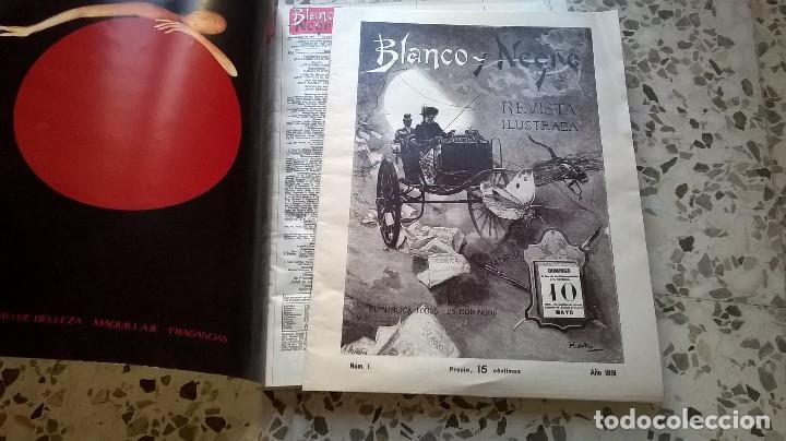 Coleccionismo de Revista Blanco y Negro: ESPECIAL 100 AÑOS BLANCO Y NEGRO 1891-1991 + REEDICIÓN Nº 1 (1891) - Foto 3 - 120090979