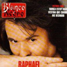 Coleccionismo de Revista Blanco y Negro: 1996. RAPHAEL. VICTORIA ABRIL. SILVIA LEBLANC. ELIZABETH BERKLEY. VER SUMARIO.... Lote 120106031