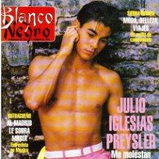 Coleccionismo de Revista Blanco y Negro: 1996. JULIO IGLESIAS PREYSLER.ESPERANZA CAMPUZANO.JUDIT MASCÓ. NUEVA HARLEY DAVIDSON. VER SUMARIO.... Lote 120107231