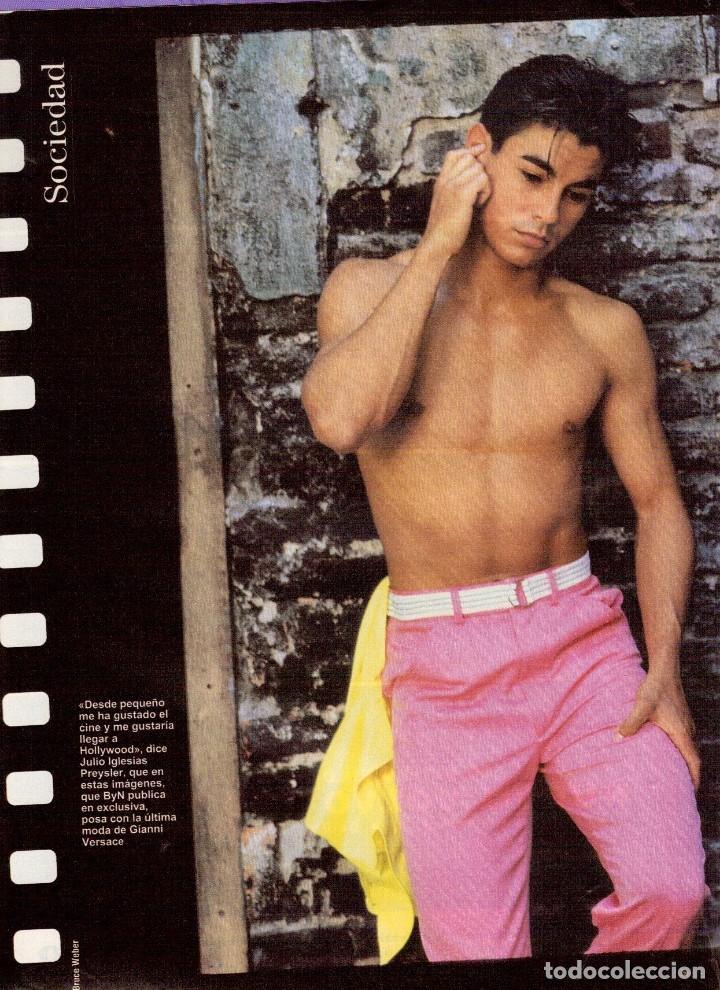 Coleccionismo de Revista Blanco y Negro: 1996. JULIO IGLESIAS PREYSLER.ESPERANZA CAMPUZANO.JUDIT MASCÓ. NUEVA HARLEY DAVIDSON. VER SUMARIO... - Foto 3 - 120107231