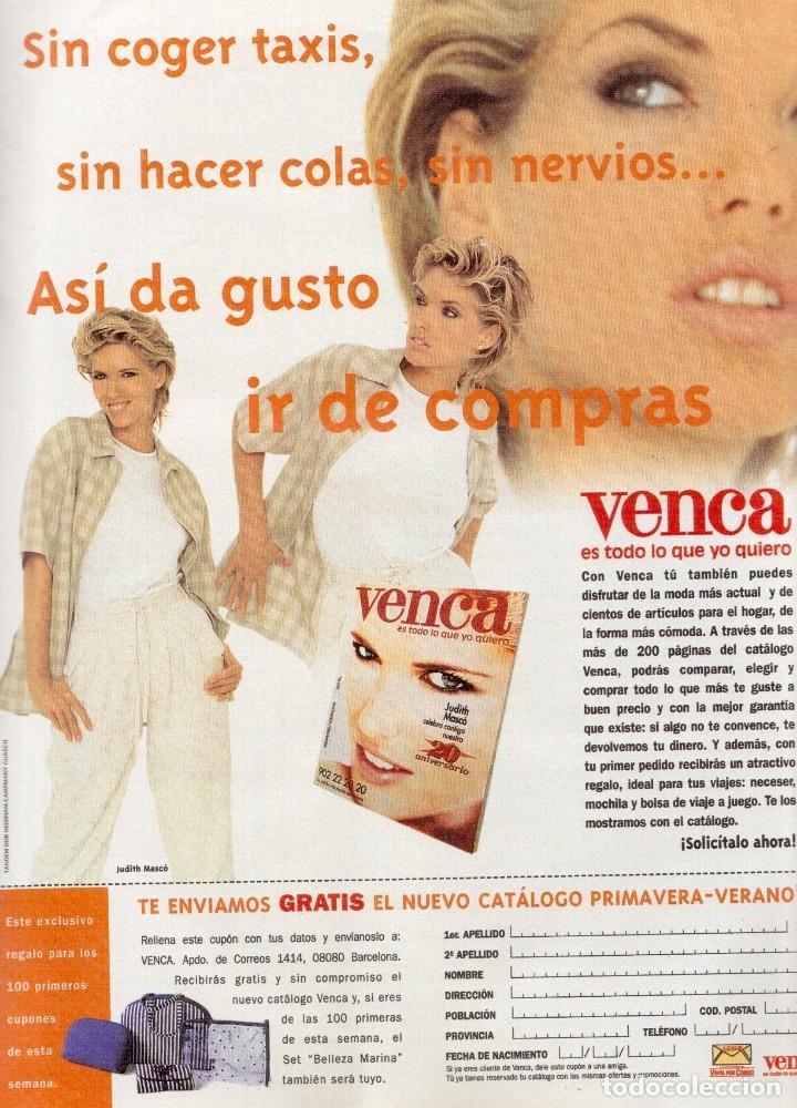 Coleccionismo de Revista Blanco y Negro: 1996. JULIO IGLESIAS PREYSLER.ESPERANZA CAMPUZANO.JUDIT MASCÓ. NUEVA HARLEY DAVIDSON. VER SUMARIO... - Foto 8 - 120107231