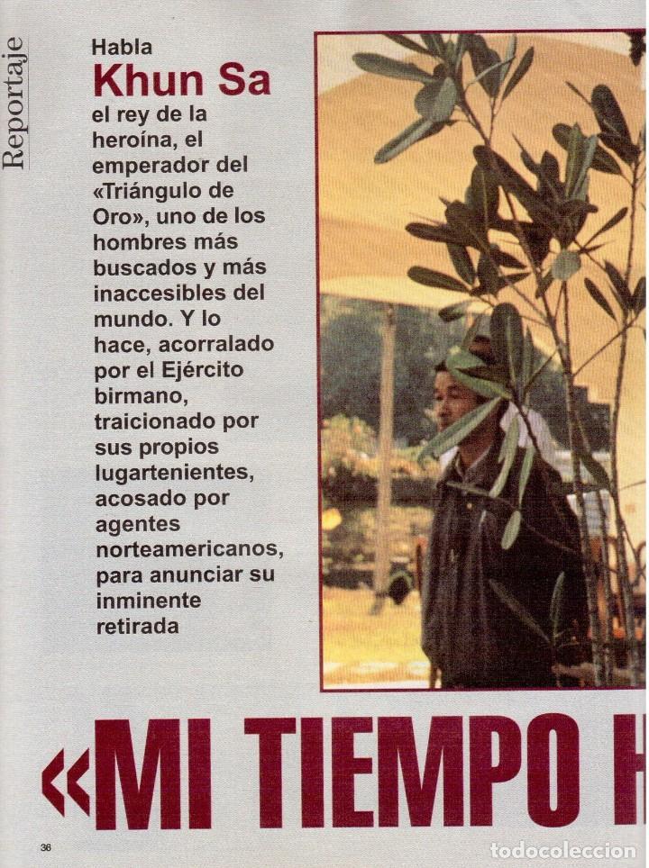 Coleccionismo de Revista Blanco y Negro: 1996. JULIO IGLESIAS PREYSLER.ESPERANZA CAMPUZANO.JUDIT MASCÓ. NUEVA HARLEY DAVIDSON. VER SUMARIO... - Foto 9 - 120107231