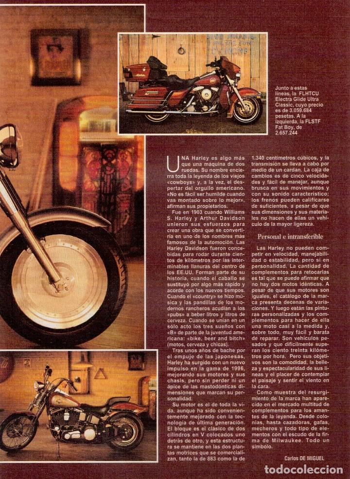 Coleccionismo de Revista Blanco y Negro: 1996. JULIO IGLESIAS PREYSLER.ESPERANZA CAMPUZANO.JUDIT MASCÓ. NUEVA HARLEY DAVIDSON. VER SUMARIO... - Foto 12 - 120107231