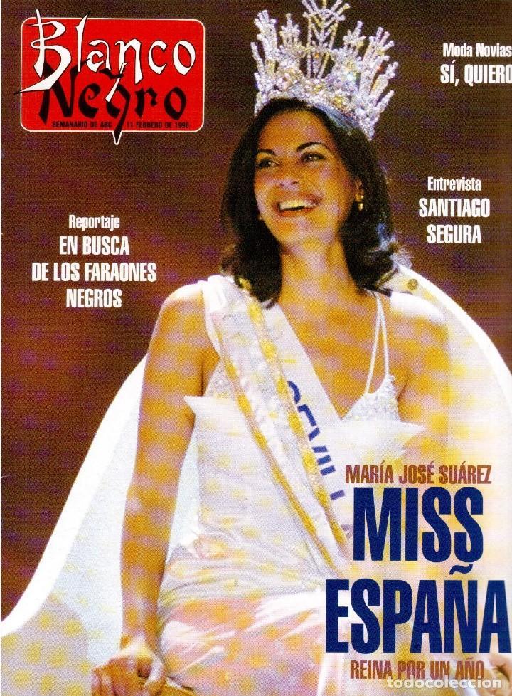1996. MARÍA JOSÉ SUÁREZ. ANNE IGARTIBURU. VER SUMARIO... (Coleccionismo - Revistas y Periódicos Modernos (a partir de 1.940) - Blanco y Negro)