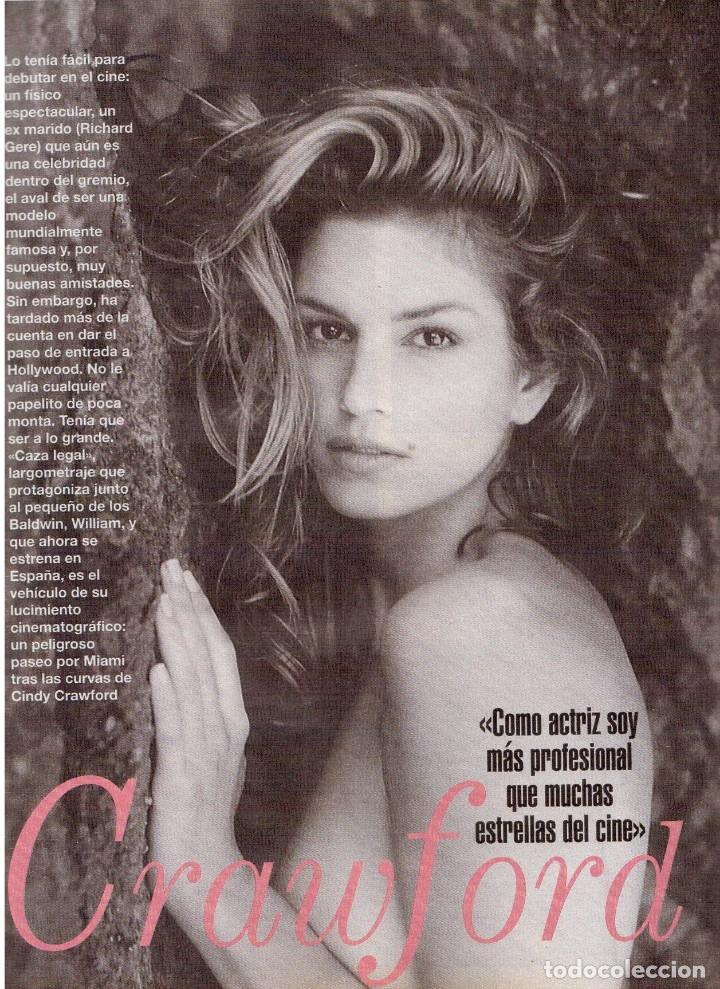 Coleccionismo de Revista Blanco y Negro: 1996. CINDY CRAWFORD.MARÍA ROSA.CONCHA VELASCO.VICTORIA VERA.JUDIT MASCÓ. VER SUMARIO... - Foto 6 - 120109783
