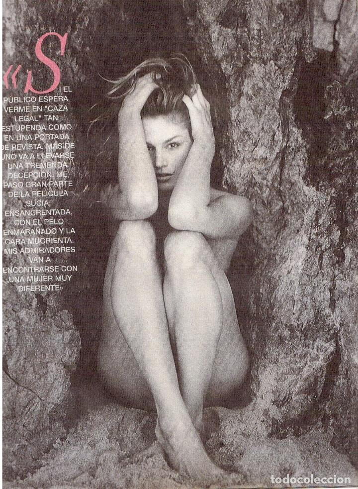 Coleccionismo de Revista Blanco y Negro: 1996. CINDY CRAWFORD.MARÍA ROSA.CONCHA VELASCO.VICTORIA VERA.JUDIT MASCÓ. VER SUMARIO... - Foto 7 - 120109783