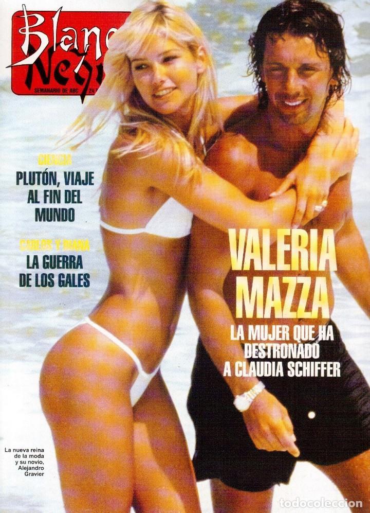 1996. VALERIA MAZZA. LA BATALLA DE GALES - EL DIVORCIO DE CARLOS Y DIANA -. VER SUMARIO... (Coleccionismo - Revistas y Periódicos Modernos (a partir de 1.940) - Blanco y Negro)