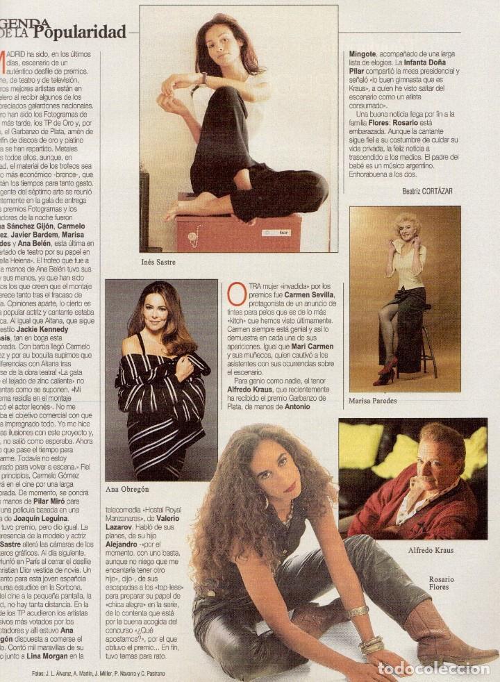 Coleccionismo de Revista Blanco y Negro: 1996. VALERIA MAZZA. LA BATALLA DE GALES - EL DIVORCIO DE CARLOS Y DIANA -. VER SUMARIO... - Foto 6 - 120135391