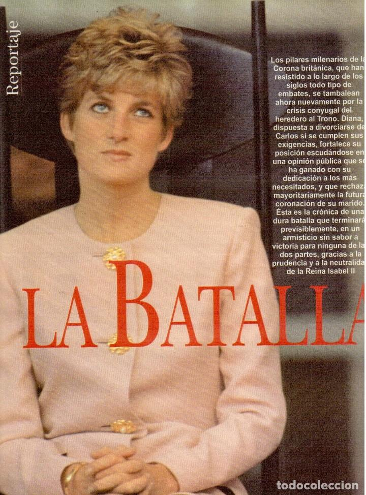 Coleccionismo de Revista Blanco y Negro: 1996. VALERIA MAZZA. LA BATALLA DE GALES - EL DIVORCIO DE CARLOS Y DIANA -. VER SUMARIO... - Foto 7 - 120135391