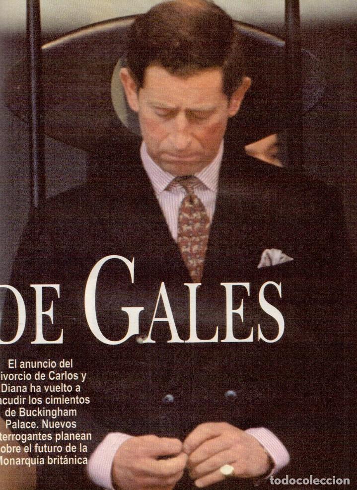Coleccionismo de Revista Blanco y Negro: 1996. VALERIA MAZZA. LA BATALLA DE GALES - EL DIVORCIO DE CARLOS Y DIANA -. VER SUMARIO... - Foto 8 - 120135391