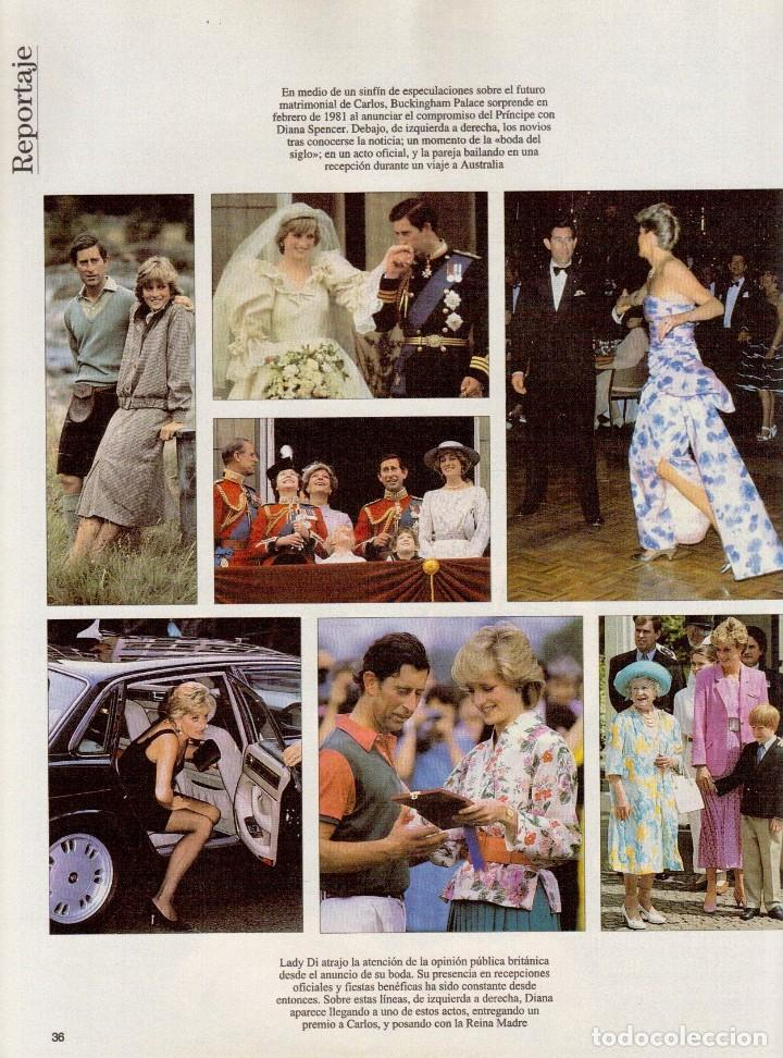 Coleccionismo de Revista Blanco y Negro: 1996. VALERIA MAZZA. LA BATALLA DE GALES - EL DIVORCIO DE CARLOS Y DIANA -. VER SUMARIO... - Foto 9 - 120135391