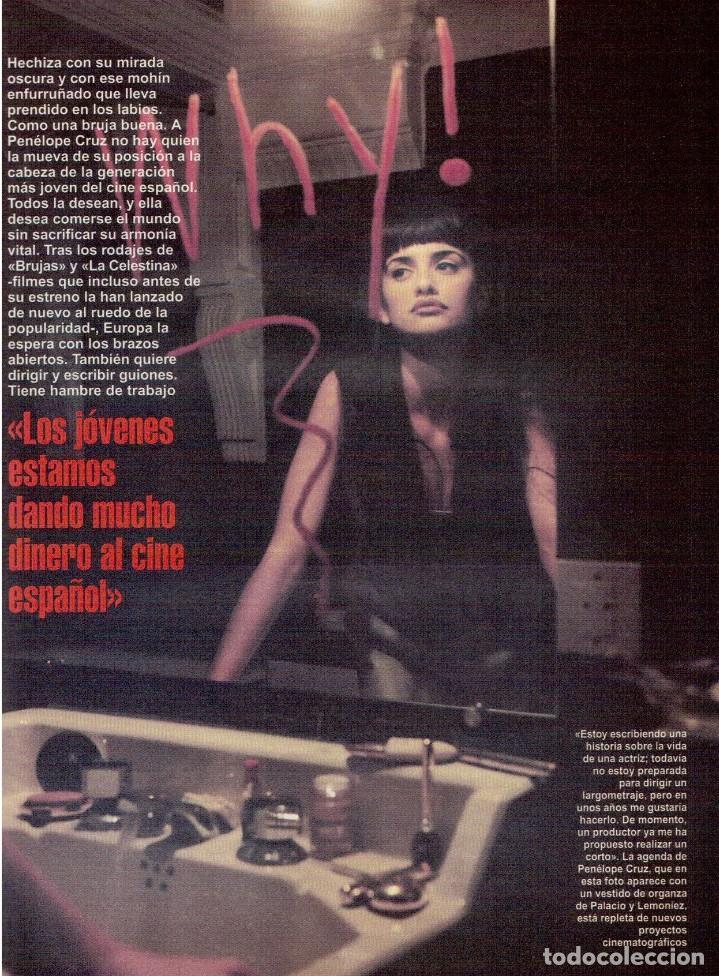Coleccionismo de Revista Blanco y Negro: 1996. PENÉLOPE CRUZ.FRANCISCO LÓPEZ - ISABEL QUINTANILLA.LOLITA FLORES. KAREN MULDER. VER SUMARIO... - Foto 3 - 120137555