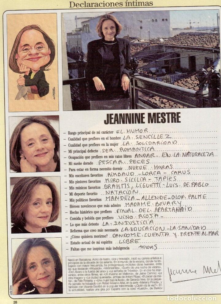 Coleccionismo de Revista Blanco y Negro: 1996. PENÉLOPE CRUZ.FRANCISCO LÓPEZ - ISABEL QUINTANILLA.LOLITA FLORES. KAREN MULDER. VER SUMARIO... - Foto 8 - 120137555