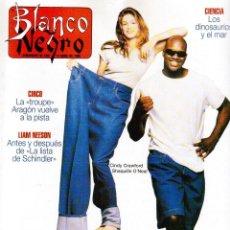 Coleccionismo de Revista Blanco y Negro: 1996. LA FAMILIA ARAGÓN REAPARECE. NACHO CANO DE MECANO. CINDY CRAWFORD Y SHAQUILLE O´NEAL.. Lote 120141075