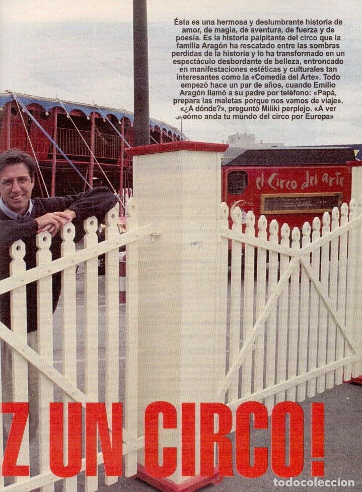 Coleccionismo de Revista Blanco y Negro: 1996. LA FAMILIA ARAGÓN REAPARECE. NACHO CANO de MECANO. CINDY CRAWFORD Y SHAQUILLE O´NEAL. - Foto 4 - 120141075