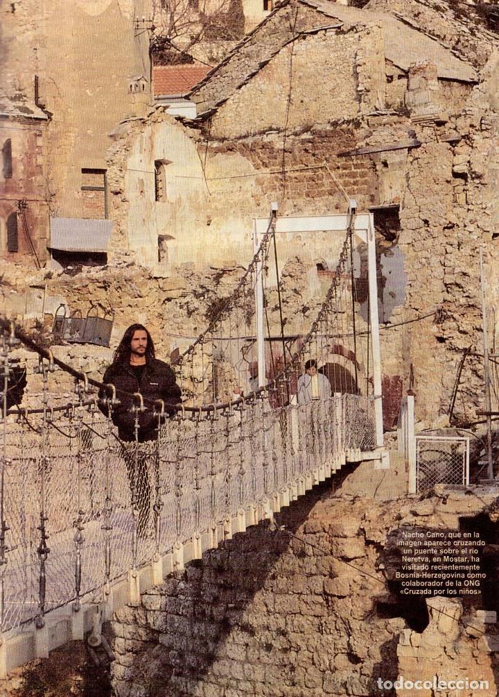 Coleccionismo de Revista Blanco y Negro: 1996. LA FAMILIA ARAGÓN REAPARECE. NACHO CANO de MECANO. CINDY CRAWFORD Y SHAQUILLE O´NEAL. - Foto 7 - 120141075
