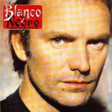 Coleccionismo de Revista Blanco y Negro: 1996. STING.JACQUELINE KENNEDY ONASSIS.ROCÍO JURADO.MARTA SÁNCHEZ.PAQUITA RICO. VER SUMARIO.... Lote 120143111