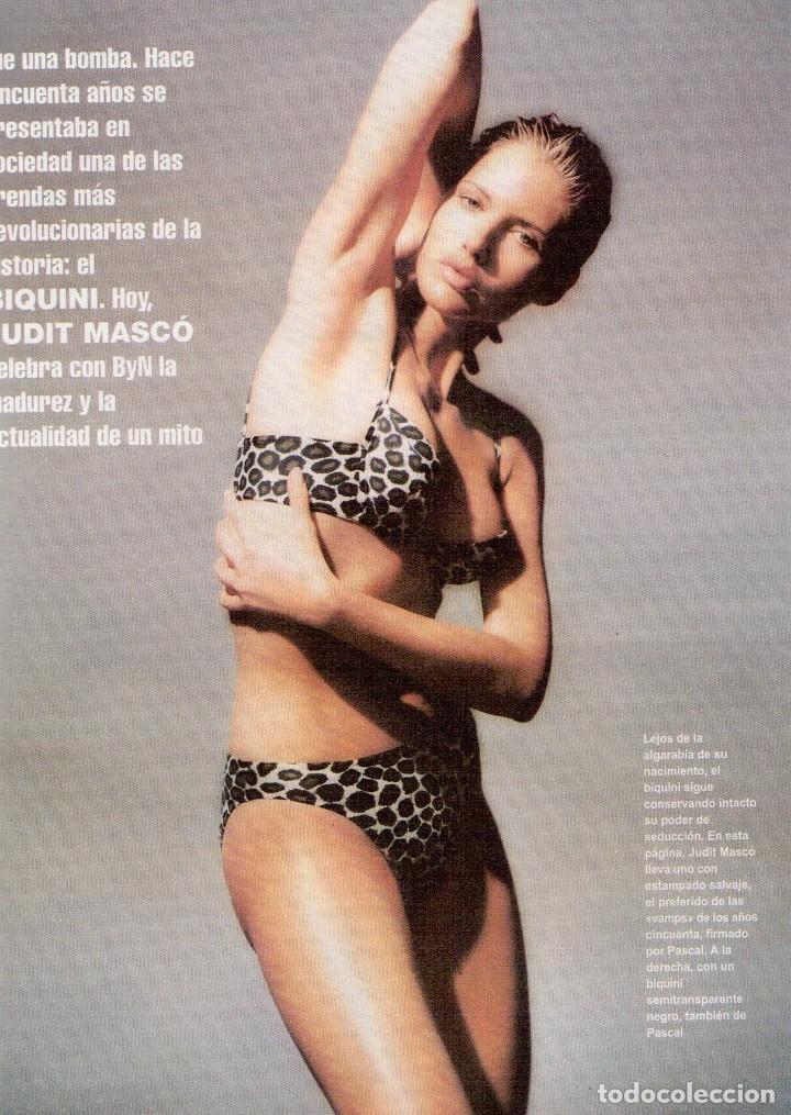 Coleccionismo de Revista Blanco y Negro: 1996. EUGENIA SANTANA. ELSA ANKA. YVONNE REYES. ISABEL SERRANO. JOAQUÍN CORTÉS. SUMARIO... - Foto 3 - 120178615