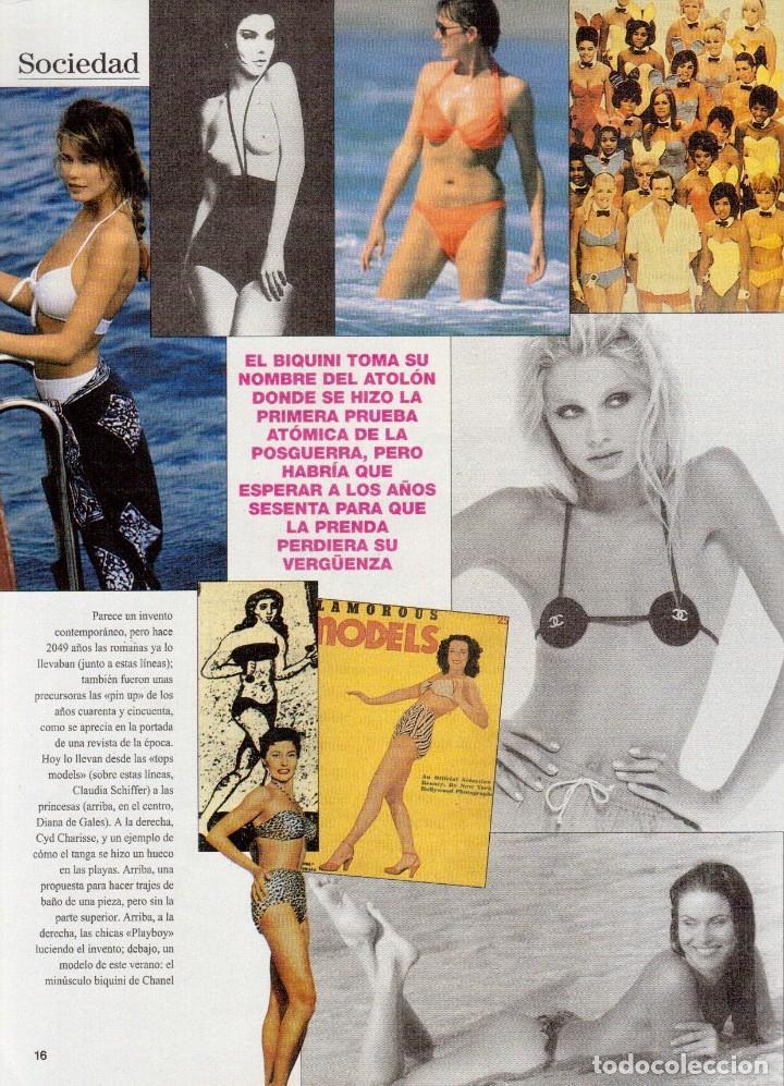 Coleccionismo de Revista Blanco y Negro: 1996. EUGENIA SANTANA. ELSA ANKA. YVONNE REYES. ISABEL SERRANO. JOAQUÍN CORTÉS. SUMARIO... - Foto 4 - 120178615