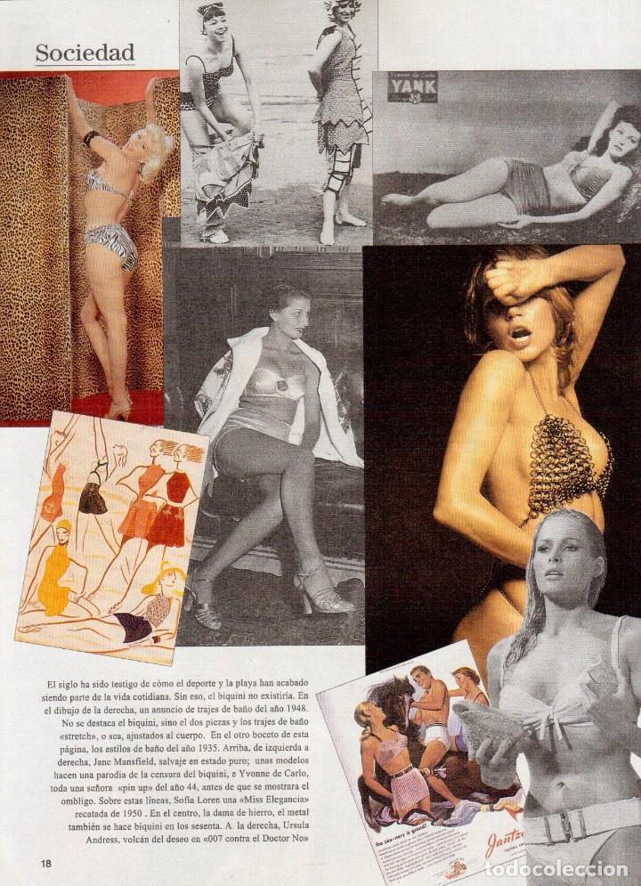 Coleccionismo de Revista Blanco y Negro: 1996. EUGENIA SANTANA. ELSA ANKA. YVONNE REYES. ISABEL SERRANO. JOAQUÍN CORTÉS. SUMARIO... - Foto 5 - 120178615