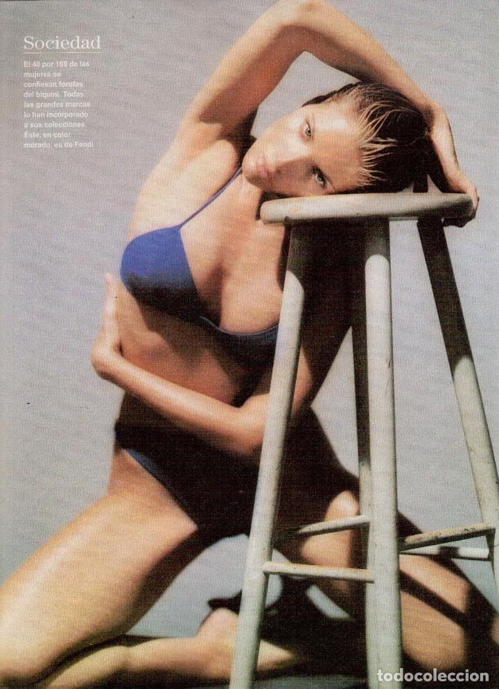 Coleccionismo de Revista Blanco y Negro: 1996. EUGENIA SANTANA. ELSA ANKA. YVONNE REYES. ISABEL SERRANO. JOAQUÍN CORTÉS. SUMARIO... - Foto 6 - 120178615