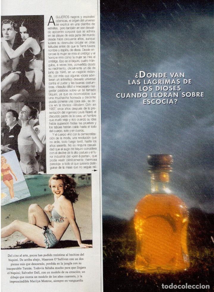 Coleccionismo de Revista Blanco y Negro: 1996. EUGENIA SANTANA. ELSA ANKA. YVONNE REYES. ISABEL SERRANO. JOAQUÍN CORTÉS. SUMARIO... - Foto 7 - 120178615