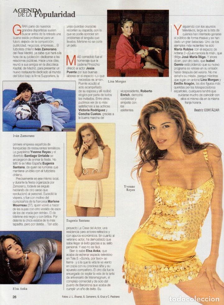 Coleccionismo de Revista Blanco y Negro: 1996. EUGENIA SANTANA. ELSA ANKA. YVONNE REYES. ISABEL SERRANO. JOAQUÍN CORTÉS. SUMARIO... - Foto 10 - 120178615