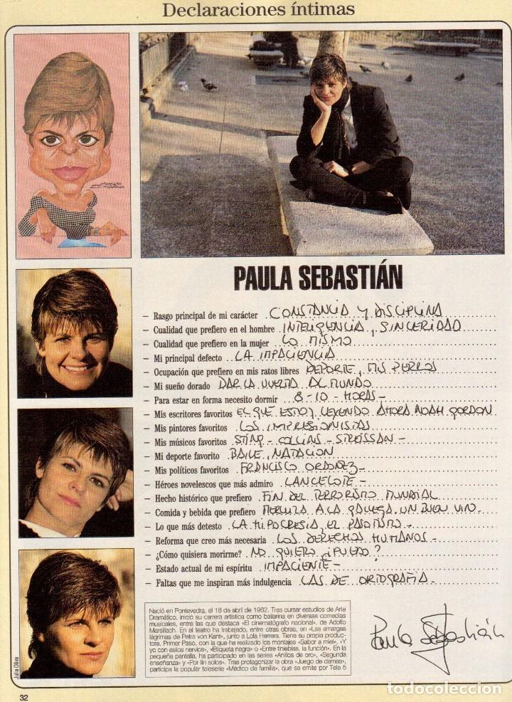 Coleccionismo de Revista Blanco y Negro: 1996. TATIANA DE LIECHTENSTEIN. MABEL LOZANO. PAULA SEBASTIÁN. VER SUMARIO... - Foto 7 - 120180095