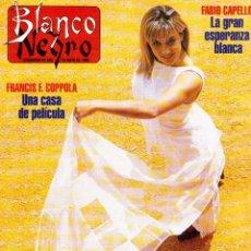 Coleccionismo de Revista Blanco y Negro: 1996. CRISTINA SÁNCHEZ. BLANCA SUELVES.FABIO CAPELLO.MÓNICA BELLUCI. VER SUMARIO.... Lote 120186975