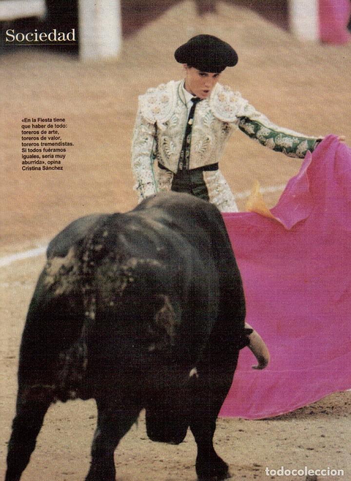 Coleccionismo de Revista Blanco y Negro: 1996. CRISTINA SÁNCHEZ. BLANCA SUELVES.FABIO CAPELLO.MÓNICA BELLUCI. VER SUMARIO... - Foto 4 - 120186975