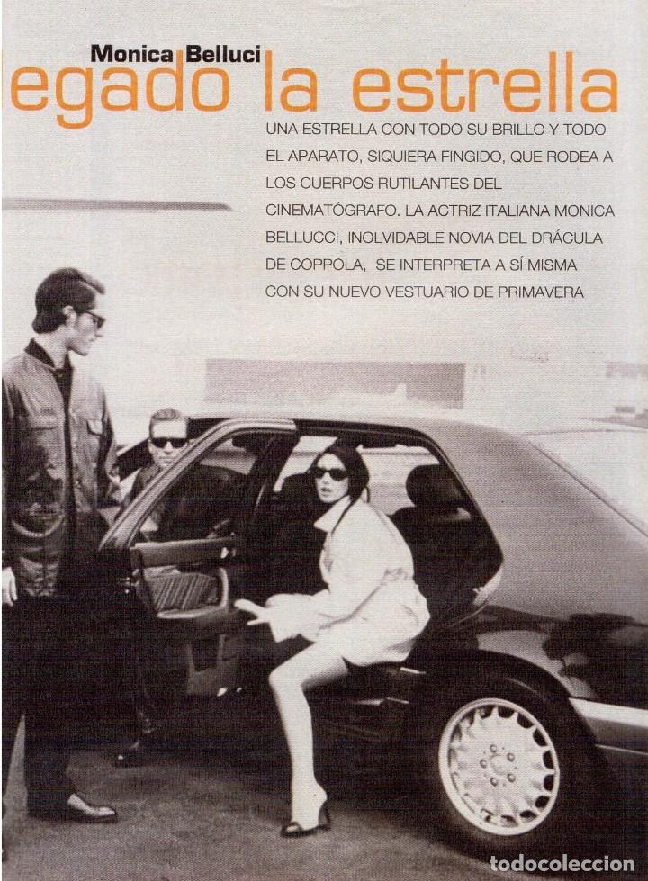 Coleccionismo de Revista Blanco y Negro: 1996. CRISTINA SÁNCHEZ. BLANCA SUELVES.FABIO CAPELLO.MÓNICA BELLUCI. VER SUMARIO... - Foto 14 - 120186975