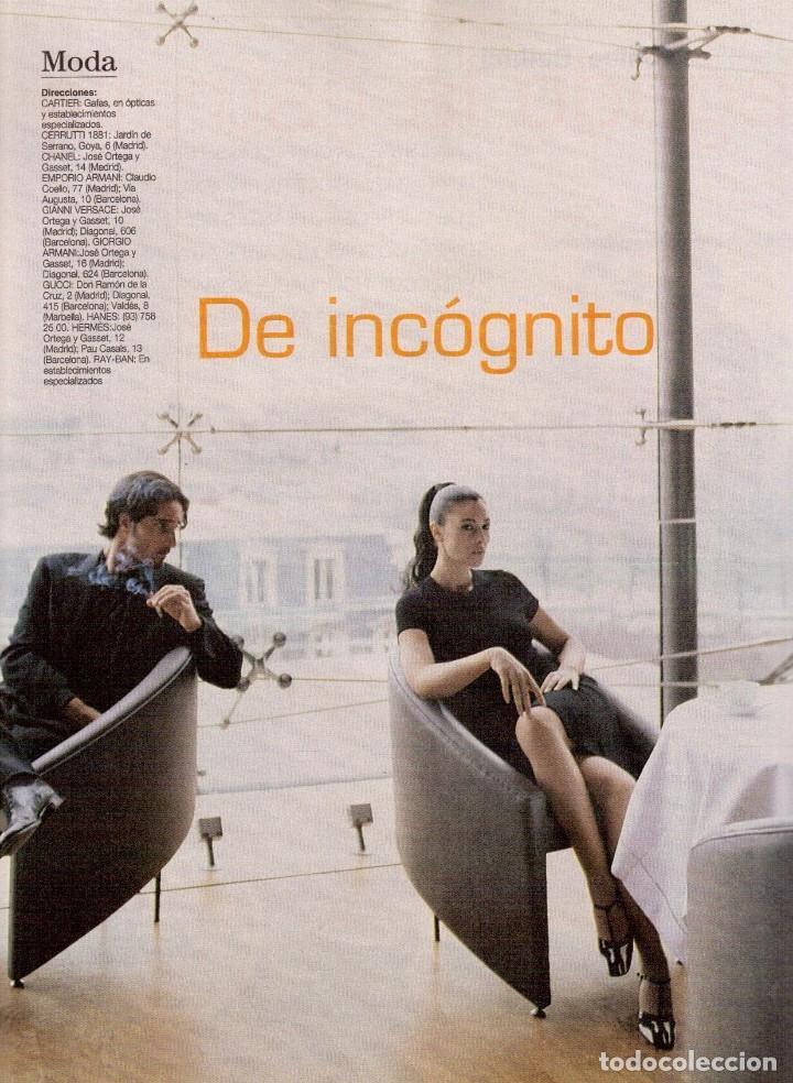 Coleccionismo de Revista Blanco y Negro: 1996. CRISTINA SÁNCHEZ. BLANCA SUELVES.FABIO CAPELLO.MÓNICA BELLUCI. VER SUMARIO... - Foto 15 - 120186975