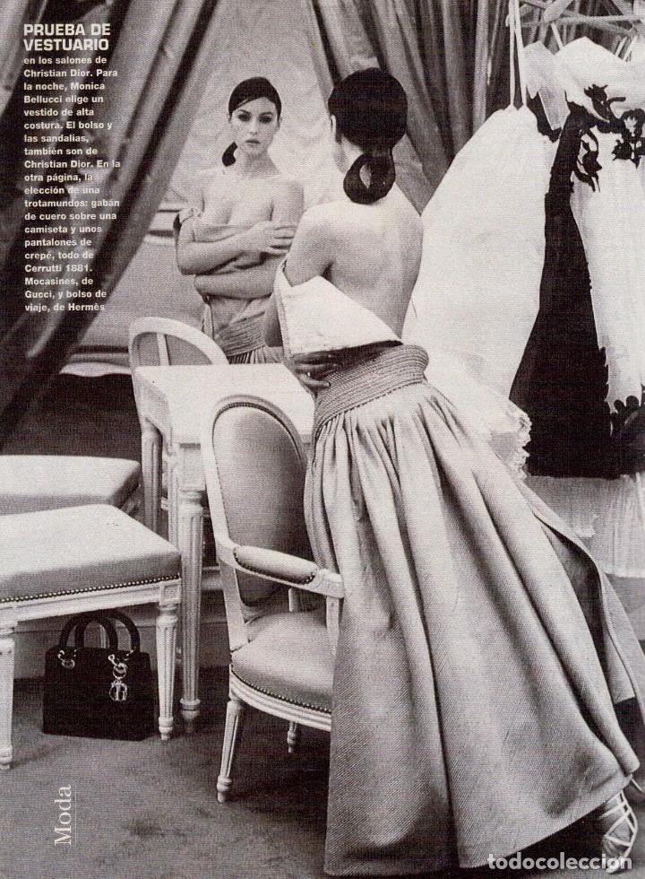 Coleccionismo de Revista Blanco y Negro: 1996. CRISTINA SÁNCHEZ. BLANCA SUELVES.FABIO CAPELLO.MÓNICA BELLUCI. VER SUMARIO... - Foto 17 - 120186975