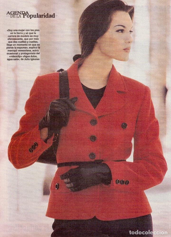 Coleccionismo de Revista Blanco y Negro: 1996. PONCE VS JOSELITO. INÉS SASTRE. AZÚCAR MORENO. EMMANUELLE BEART. VER SUMARIO... - Foto 4 - 120202647
