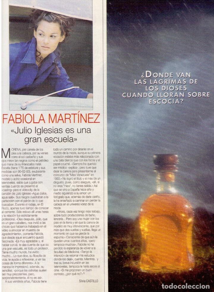 Coleccionismo de Revista Blanco y Negro: 1996. PONCE VS JOSELITO. INÉS SASTRE. AZÚCAR MORENO. EMMANUELLE BEART. VER SUMARIO... - Foto 5 - 120202647