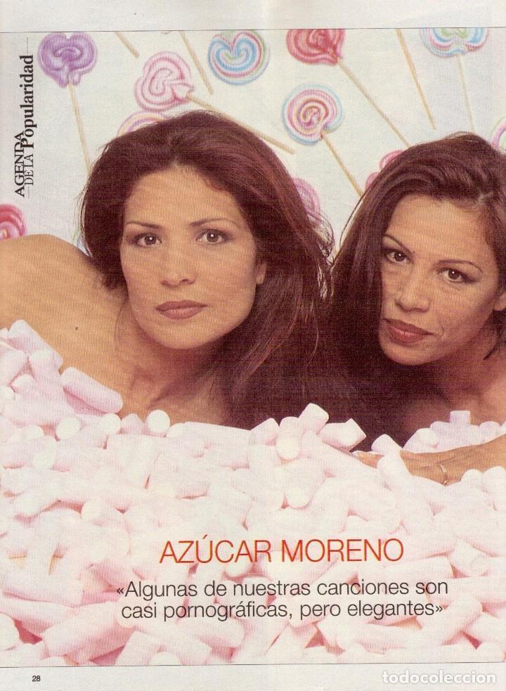 Coleccionismo de Revista Blanco y Negro: 1996. PONCE VS JOSELITO. INÉS SASTRE. AZÚCAR MORENO. EMMANUELLE BEART. VER SUMARIO... - Foto 6 - 120202647