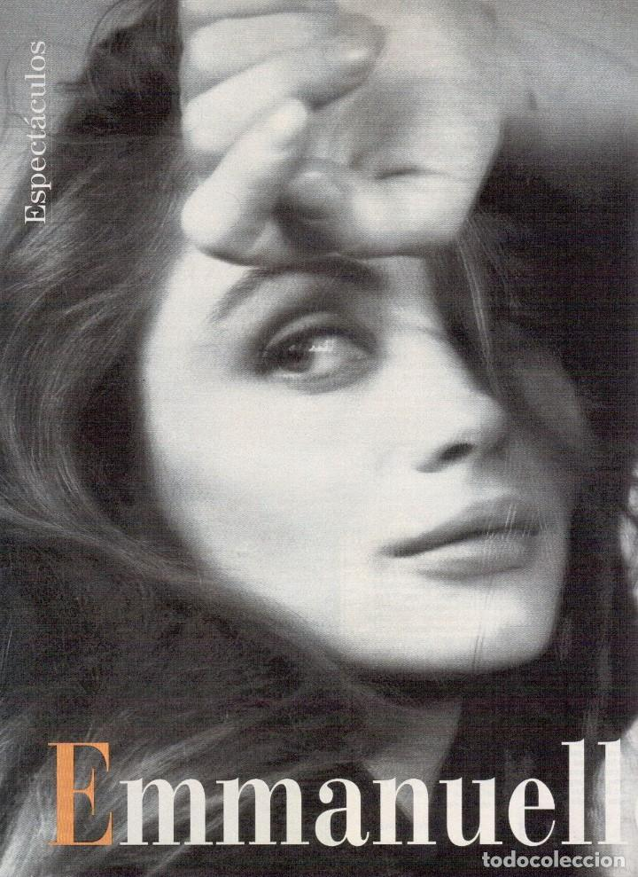 Coleccionismo de Revista Blanco y Negro: 1996. PONCE VS JOSELITO. INÉS SASTRE. AZÚCAR MORENO. EMMANUELLE BEART. VER SUMARIO... - Foto 8 - 120202647
